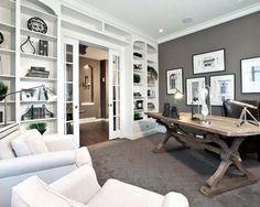 Contemporary Home Office GUEST ROOM Design, Pictures, Remodel, Decor and Ideas - page 7