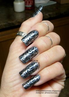 Revlon Beguile, Essie No Place Like Chrome, LLC-A stamp