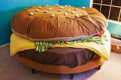 Hamburger Bed-- I Need!!