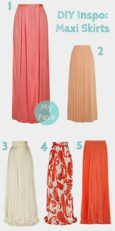 comfy DIY skirts- patterns also work for non-maternity How to make an easy maxi skirt DIY Inspiration: Maxi Skirts. Definitely making a maxi. Diy Maxi Skirt, Dress Skirt, Maxi Skirts, Dress Up, Maxi Skirt Tutorial, Girl Skirts, Pleated Maxi, Flowy Skirt, Maxi Dresses