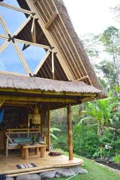 Eco Bamboo Home - Houses for Rent in Selat