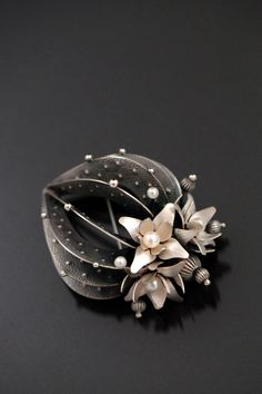 Strombo Cactus by Sooyoung Kim  of Hopatcong, N.J. 2013 NICHE Awards Finalist. Category: Jewelry, Silver