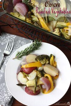 Roasted Vegetables | MyBlessedLife.net #recipe