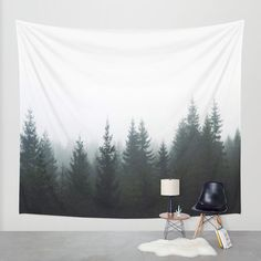 Forest Wall Tapestry by Kjellin | Society6