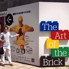 Taipei Opening — Nathan Sawaya — The Art of the Brick Nathan has been all over the world, and he is in Pensacola, Florida now. Lego Sculptures, Sculpture Art, Fun Places To Go, Play The Video, Lego Room, Names With Meaning, Niece And Nephew, Lego Building, Legoland