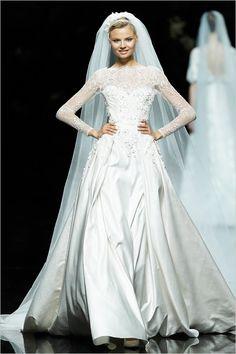Волшебная коллекция свадебных платьев Pronovias (2013) #bride #dress #wedding #2013
