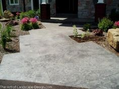 cement+patio+designs | Patio Pictures - Pictures of Patios, Paver Patios & More!