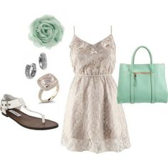 casual summer elegance #jgulla87 - Click image to find more Hair & Beauty Pinterest pins