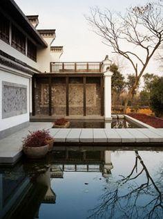 Peaceful Garden Pond