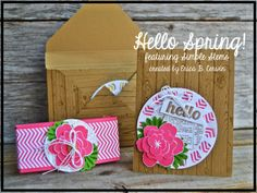 Artisan Blog Hop! Viewfinder Card Set featuring Simple Stems and Hardwood as well as a cut file made in MDS! pinkbuckaroodesigns.blogspot.com