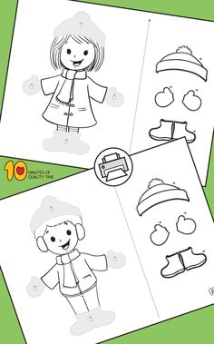 Winter Cut and Paste Worksheets – decoration Winter Activities For Kids, Winter Crafts For Kids, Winter Kids, Cut And Paste Worksheets, Shapes Worksheets, Rhyming Activities, Preschool Activities, Easy Arts And Crafts, Crafts To Do
