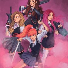 Image shared by Maria Vi🌺🍃. Find images and videos about kpop, rose and blackpink on We Heart It - the app to get lost in what you love. Kpop Drawings, Cute Drawings, Wie Zeichnet Man Manga, Itslopez, Blackpink Memes, Black Pink Kpop, Blackpink Photos, Pictures, Kpop Fanart