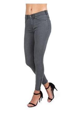 Jeans Domino GREY USED - Jeans - Kläder - Raglady