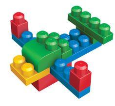 Amazon.com : Mega Bloks First Builders Deluxe Building Bag 160-Piece : Toy Interlocking Building Sets : Baby *9