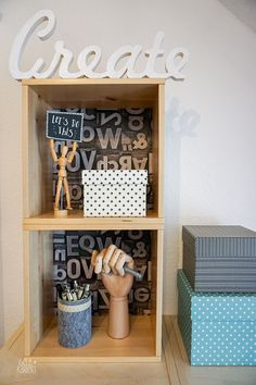 DIY Wandschränke mit Creatisto Folie aufmöbeln|Ikea Förhöja|Gelbkariert Ikea Hack, Logo Design, Graphics, Logos, Furniture, Ideas, Home Decor, Advertising, Closet