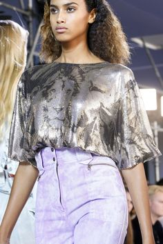 Roberto Cavalli Spring 2016 Ready-to-Wear collection.
