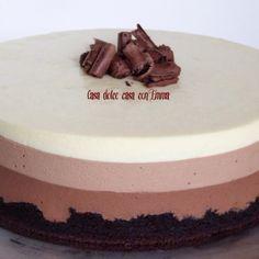 Non sapete da quanto tempo volevo provare a fare questa torta! Mi ha sempre affascinata, incuriosita e soprattutto ingolosita. Un successo assicurato visto che la ricetta è di Ernst Knam il Re del Cioccolato e questa torta è stata proprio fatta per la finale... #cioccolato #dolci #dolcialcucchiaio