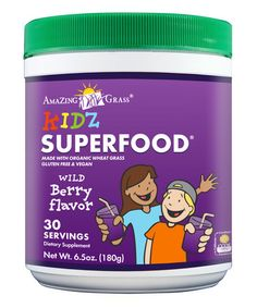 Another great find on #zulily! Berry Kidz SuperFood - 30 Servings by Amazing Grass #zulilyfinds