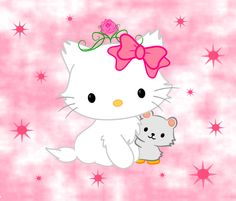 Charmmy Kitty by ~jamloljam Sanrio Characters, Cute Characters, Hello Kitty Art, Gata Marie, Hello Kitty Pictures, Hello Kitty Wallpaper, Kawaii Shop, Little Twin Stars, My Melody