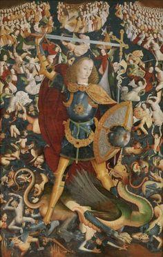 San Miguel Arcángel - Colección - Museo Nacional del Prado