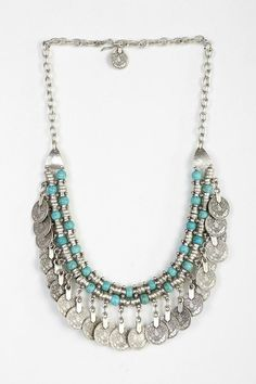 UO Sogno Bello Coin Necklace on shopstyle.com