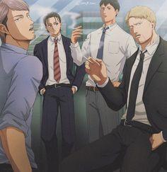 Attack On Titan Jean, Attack On Titan Funny, Attack On Titan Fanart, Anime Demon, Manga Anime, Anime Art, Eren X Mikasa, 8bit Art, Aot Characters