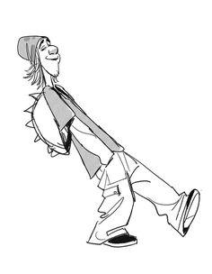 Expressões e poses do personagem Fred, de Big Hero 6! | THECAB - The Concept Art Blog | THECAB - The Concept Art Blog