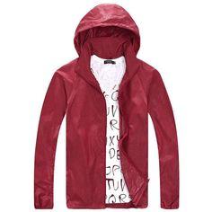 Zewo Plus Size Casual Zipper Jacket Coat Women Fashion 2017 Spring Autumn Waterproof Hooded Windbreaker Sun Clothing Men Coats
