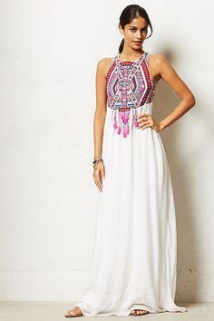 Mahina Maxi Dress by Mara Hoffman. I think this would be an amazing wedding dress - boho, comfy, not crazy expensive, you can wear it again AND you can even elope in it ;-)