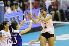 MANILA – Reigning Most Valuable Player Alyssa Valdez of Ateneo was simply on another level during Game 1 of the UAAP Season 77 women's volleyball Finals against La Salle, says volleyball analyst Noreen Go. Alyssa Valdez, Women Volleyball, Game 1, Getting To Know, Manila, Eagles, Finals, Seasons, Running