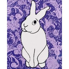 Happy Easter!! Hip Hop Wall Art (Lavender)