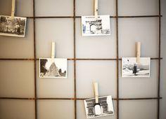 DIY: Gör en personlig fotovägg för under 100 kronor