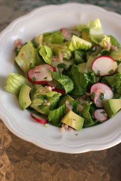 Some new salad ideas... With pickled red onions... And a shallot dressing recipe.