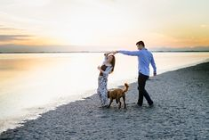 :) We were thrilled when Vivian and Michael told us that they would like to have engagement photo session on the… Beach Engagement, Engagement Photos, Vancouver Beach, Yet To Come, Little Dogs, New Friends, West Coast, Photo Sessions, New Experience