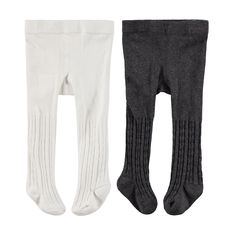 2 Pack Cable Knit Tights | Kmart
