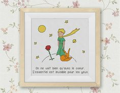 BOGO FREE The Little Prince Cross Stitch Pattern Le por StitchLine