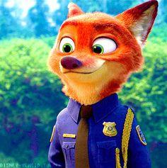 The name's Nick Wilde. I work alongside my partner Judy Hopps in Zootopia. __________________________________ This is a fan account involving the Disney movie Zootopia. Disney Pixar, Walt Disney, Disney Animation, Disney Nerd, Cute Disney, Disney And Dreamworks, Disney Cartoons, Disney Magic, Disney Characters