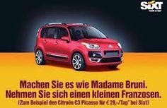 Machen Sie es wie Madame Bruni. Nehmen Sie sich einen kleinen Franzosen. Vehicles, Car, Advertising, Automobile, Autos, Cars, Vehicle, Tools