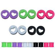 D&M Jewelry 10pcs Heart Flexible Silicone Ear Expander Fl... https://www.amazon.com/dp/B01ALE81GO/ref=cm_sw_r_pi_dp_x_Y1LVybJAWA4YH
