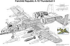 . . . O A-10 Thunderbolt II é um avião a jato, bimotor de asa reta desenvolvido pela Fairchild-Republic no início de 1970 para...