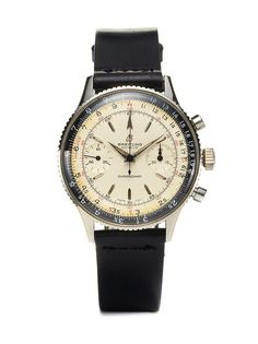 Vintage Watches Breitling Chronomat (c. 1960s).  I've been saving my pennies for three years for one of these.  Only 57 years left to go and it'll be mine!
