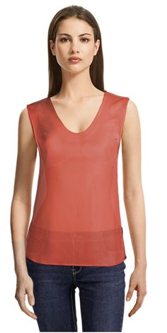 At JJ's practice of traveling worldwide to visit customers continues and is, in fact, the company has offered a top-notch custom-made tailoring service to its prime clients. Collar Styles, Sleeveless Blouse, Hemline, Basic Tank Top, Tank Tops, Lady, Sleeves, Coral Pink, Shirts