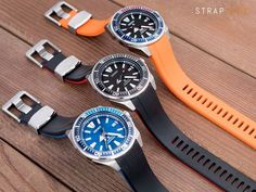 Crafter Blue rubber strap on a Seiko New Samurai? Cool Watches, Watches For Men, Seiko Samurai, Rubber Watches, Seiko Watches, T Strap, Watch Bands, Mens Fashion, Pure Products