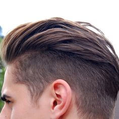 Undercut Men's Hair. Curly Hair Shaved Side, Curly Hair Men, Disconnected Undercut Men, Boys Undercut, Best Undercut Hairstyles, Mens Hairstyles 2016, Boy Hairstyles, Haircuts For Men, Men's Haircuts