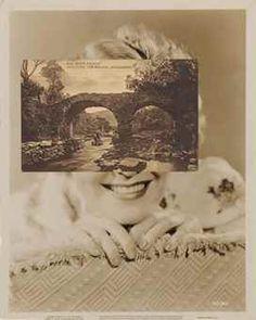 JOHN STEZAKER (NÉ EN 1948) Mask CXXIX, 2011 collage, tirage argentique et carte postale montés sur support cartonné