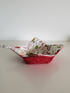 Microwave Bowl Holder//Cozy Small Fruit Print