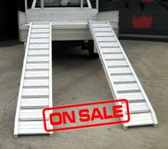 Heavy Duty Loading Ramps | Details about Mini Digger 1800kg Rhino Heavy Duty Loading Ramps