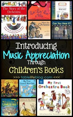Teaching music can be a daunting task for many homeschool parents, but thankfully it doesn't have to be that way. As it turns out, introducing music appreciation to our kids can be as simple as reading the right books. Preschool Music, Music Activities, Teaching Music, Learning Piano, Teaching Orchestra, Music Math, Homeschool Preschool Curriculum, Kindergarten Music, Sequencing Activities