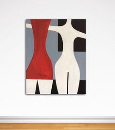 Large Abstract Painting Art Minimalistic Painting Wall Art