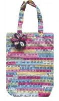 Tape Measure Print Shopping Bag